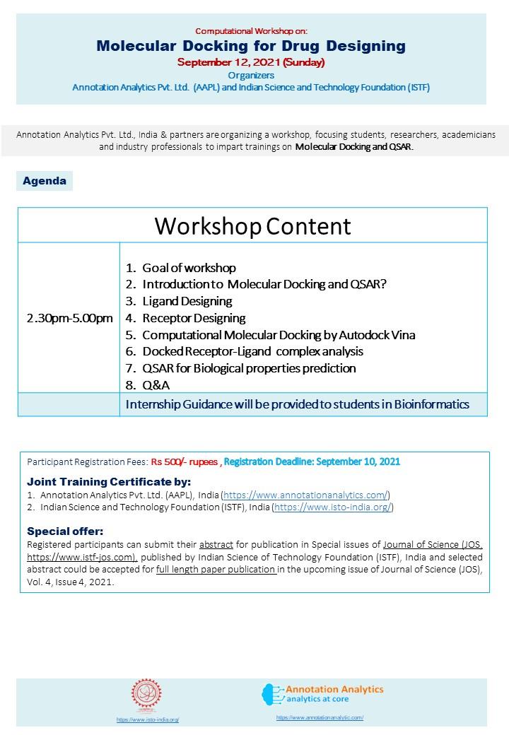 AAPL-ISTF Molecular Docking Basic course 03082021 V1